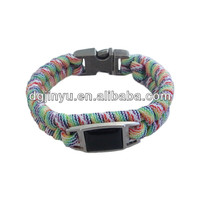 Metal Tag/Paracord Buckle for Paracord Bracelets