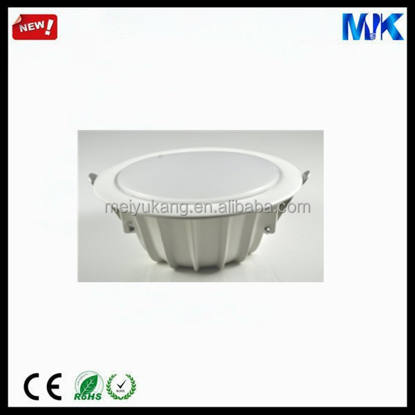 Newly Design Pc Lampshade Material Led Downlight Housing Parts Led ...