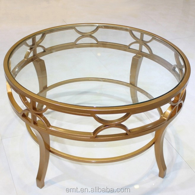 Industrial Round Coffee Table With Stainless Base High End Hotel Coffee Table Buy Hotel Coffee
