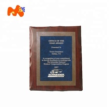 Fashion Style Blank Wooden Sublimation Frame Awards Plaque L31-22