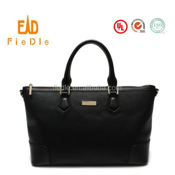 Designer Black Womens Overnight Bag Las Weekend Large Leather Handbags From China Supplier