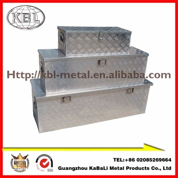 professional household storage tote aluminum tool case (kbl-alb760