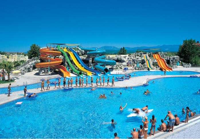 pool water splash. Holiday Hotel Swiming Pool Water Splash Slides O