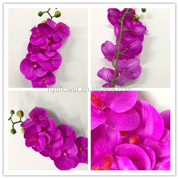 REAL TOUCH ORCHIDS/ARTIFICIAL ORCHIDS/GIFTS PURPLE ORCHIDS