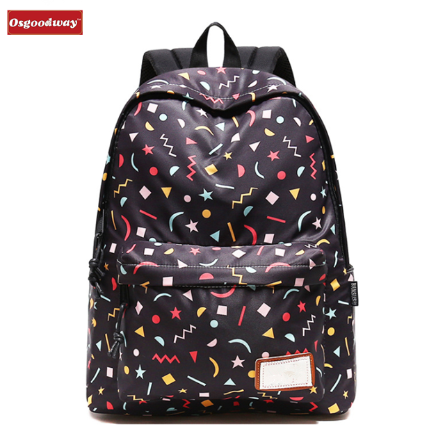 Osgoodway New Arrivals Wholesale Custom Logo Korean Style Fashion School Laptop Kids Backpack for Children