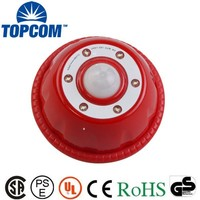 Multicolor Plastic 6 LED Motion Sensor Light With Magnetic For Indoor , Night , Day
