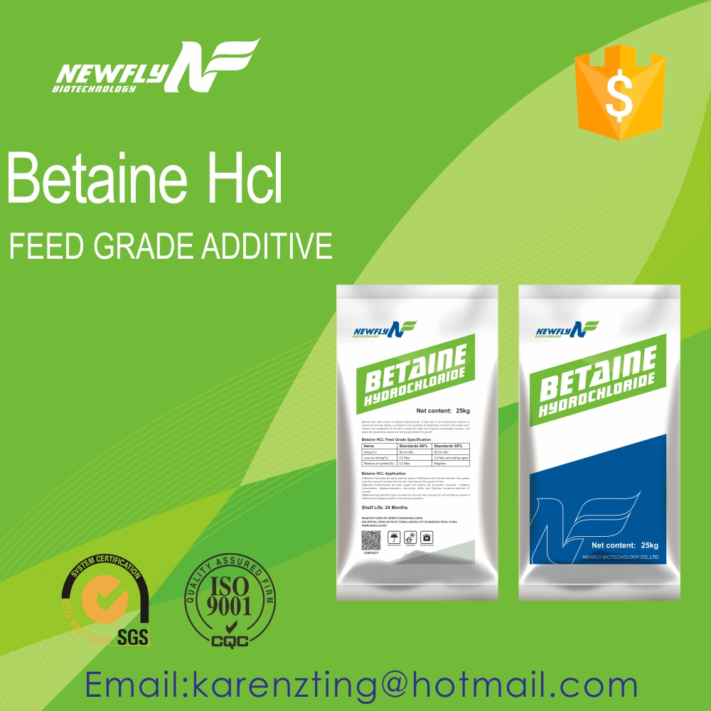 broiler chicken feed additive betaine HCL