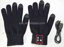 Wireless Bluetooth Handset Gloves Gants Bluetooth Touch screen Gloves Talking Gloves