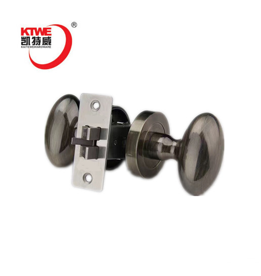 CE certification passage round handle cylindrical door knob lock
