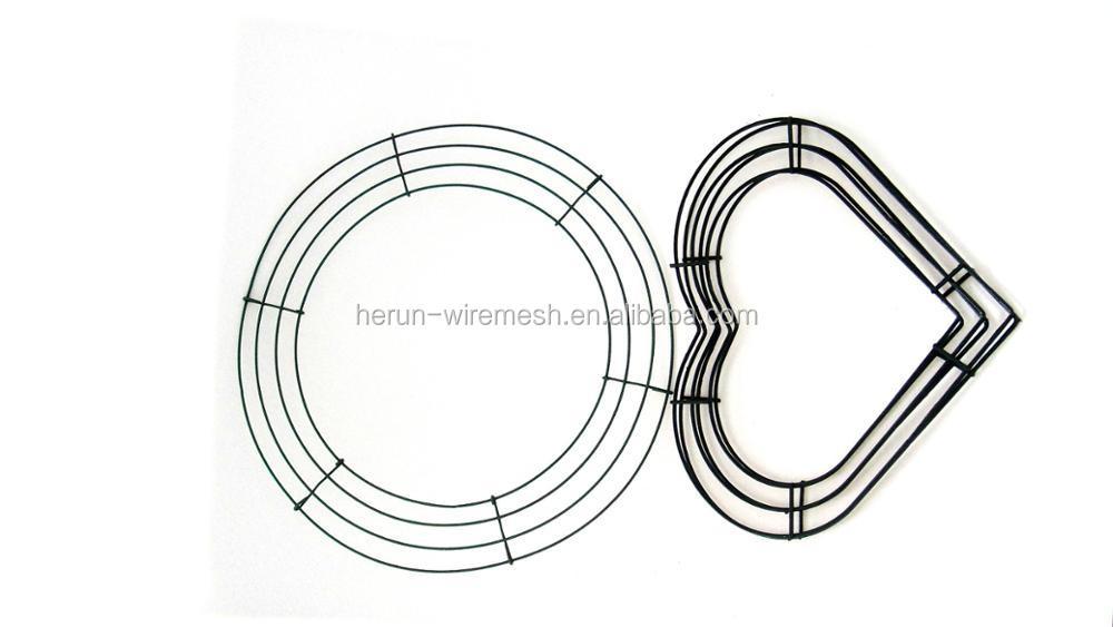 Finden Sie Hohe Qualität Metall Kranz Form Grün Hersteller und ...
