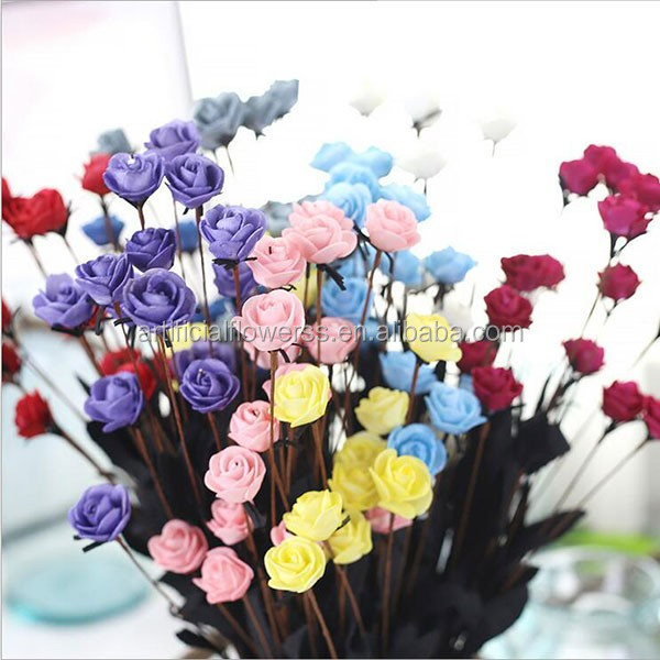 Hot Sell Cheap Artificial Flower Foam Rose For Home