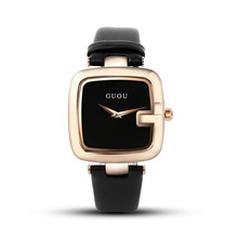 Женские Часы GUOU, квадратные, 2020(Китай)