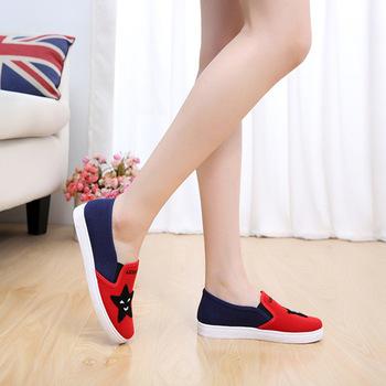 2018 latest design slip on shoes girl's