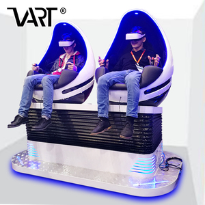 VART Suitable for All Ages 2 Seats 9D Cinema VR Entertainment Machines Virtual Reality Chair