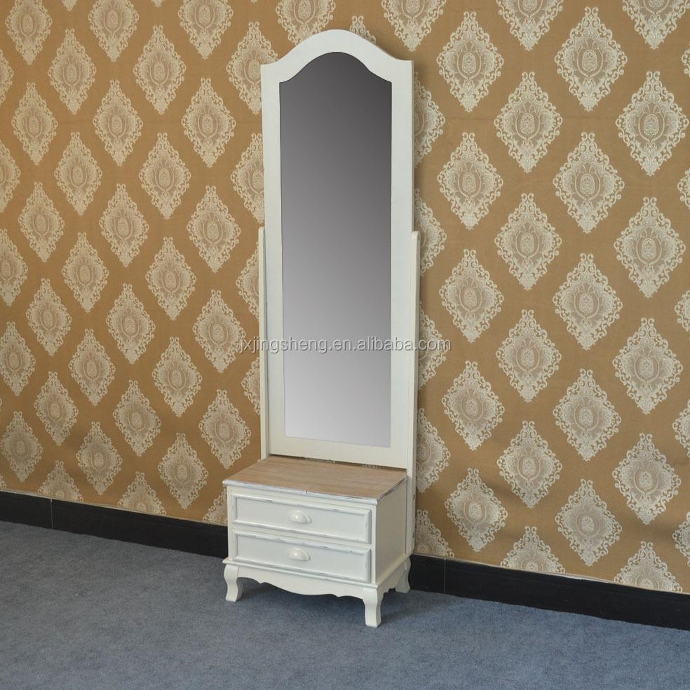 meubelen populaire houten ivoor dressing spiegel sieraden kast ...
