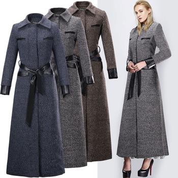 Manteau femme hiver laine et cachemire