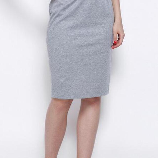 素??a?9/ey/d_bandage skirt grey