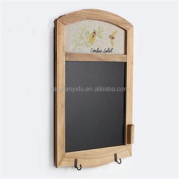 Wooden Frame Hanging Blackboard Vintage Blackboard Cafe Store Menu ...