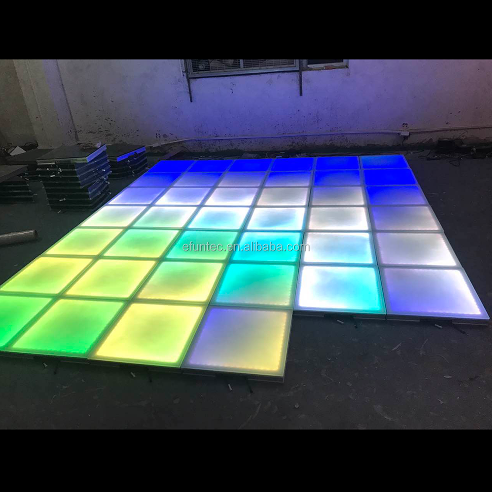 Party Bus With Dance Floor: Ip65 Colorful Light Up 3d Interactive Dance Floor Dmx Bar