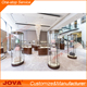 jewelry display showcases tower jewellery cabinet for jewellery shop decoration