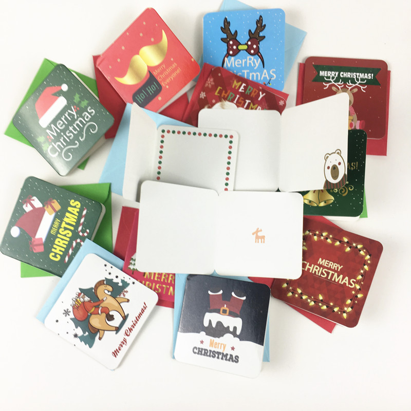 Custom Merry Christmas Greeting <strong>Cards</strong> with 24 Designs Holiday Greeting <strong>Card</strong> Assortment