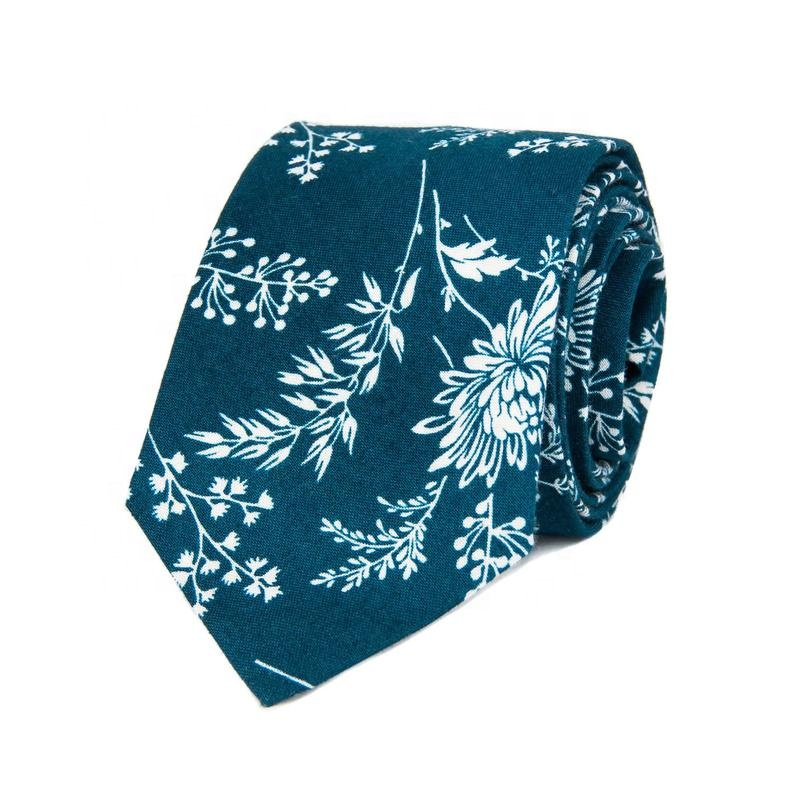 Skinny Cotton <strong>Tie</strong> With White <strong>Flowers</strong> Men's Dark <strong>Blue</strong> Slim <strong>Ties</strong>, Suit Neckties,Printed Custom Neck <strong>Tie</strong>