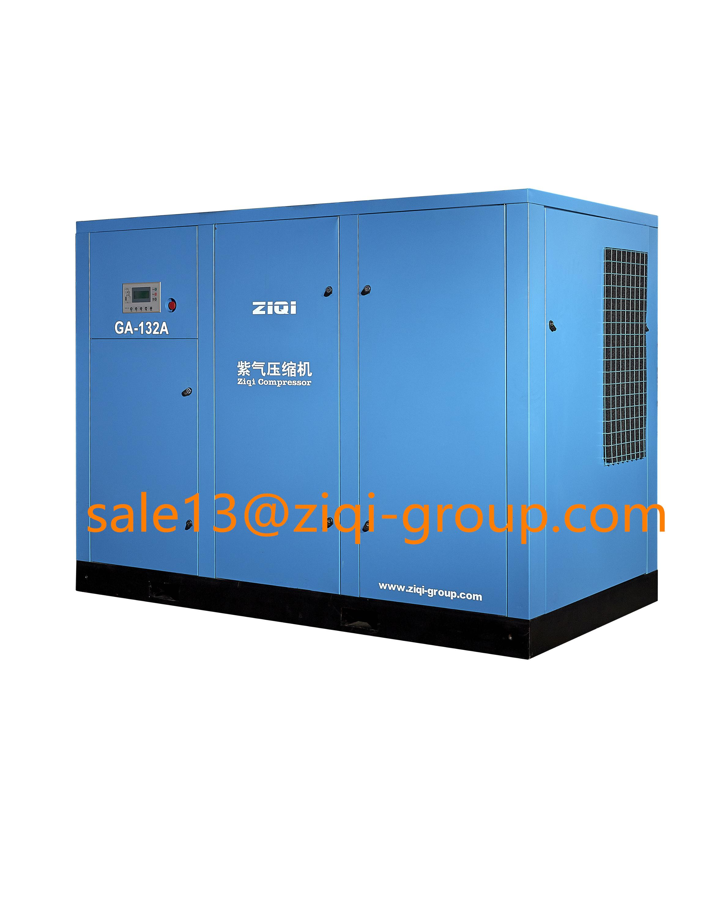 7 bar electric screw compressor AC power 55KW - 220KW Screw Air Compressor atlas