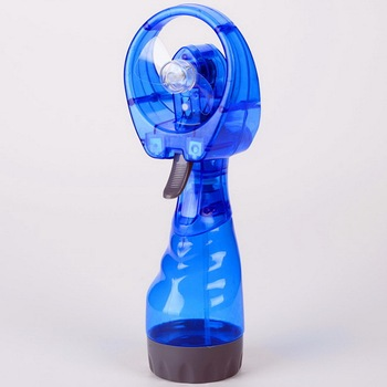 2017 Promotional Handhold Spray Electric Mini Fan Water Mist Fan
