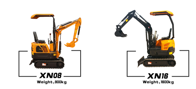 1.8t High Performance Mini Excavator With Low Prices For Small Space Construction Operations