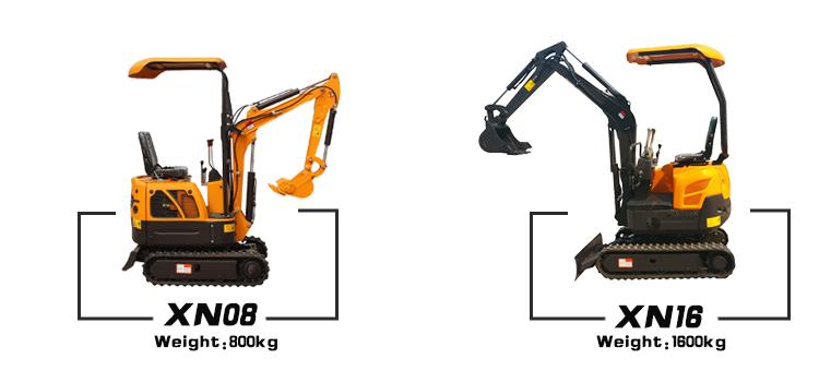 Small Work Mini Crawler Excavator Price for sale