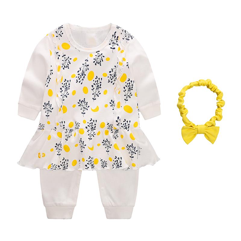 8bee94228709ba Geboren Baby Meisjes Kids Kleding Sets Cartoon Pasgeboren Baby Outfit  Kleding Set 3 6 9 12