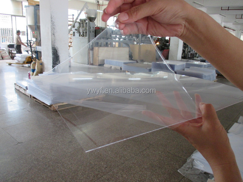Thin Clear Plastic Sheet;polystyrene Sheet/pmma/acrylic/photo ...