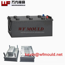 plastic auto battery case steel mould making in taizhou/plastic auto battery case injection mould/car battery box mold making