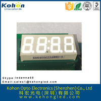 Wide varieties four digit common anode seven segment digital display ROHS approval