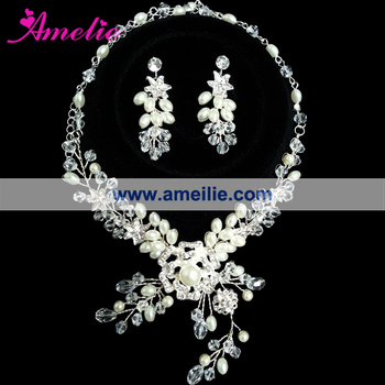 Dubai Gold Silver Jewelry Set wedding jewellery designs View