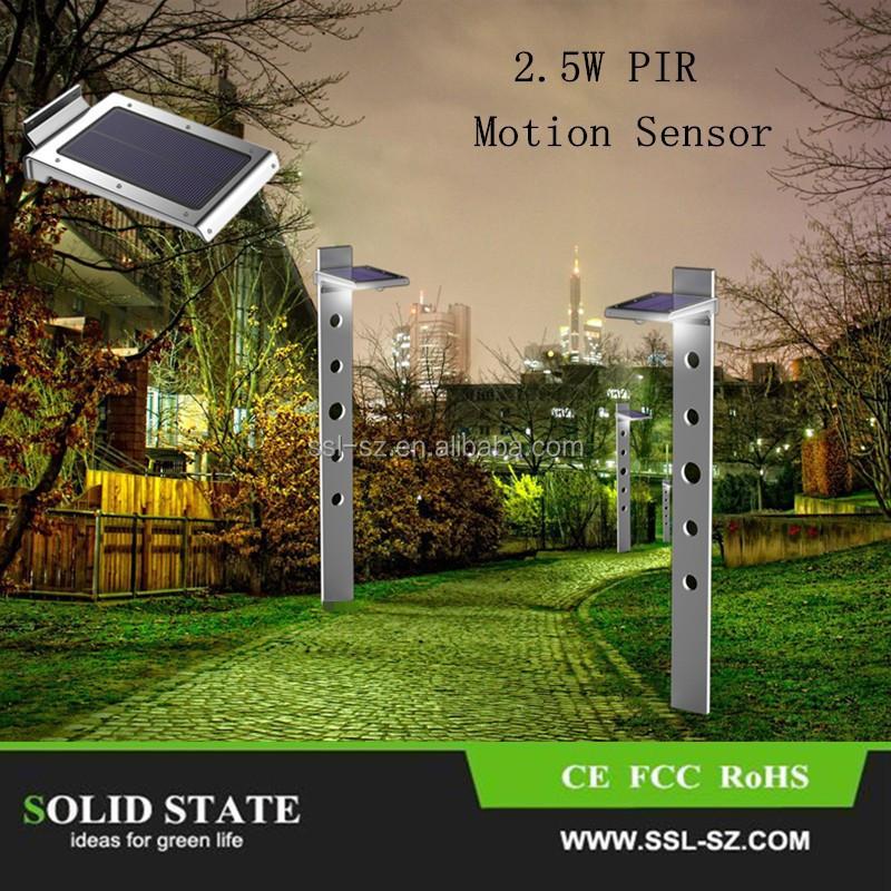 2015 46 unids luces led outdoor iluminacion solar cercas yarda del jard n del sensor de - Iluminacion solar jardin ...
