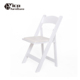 Wholesale white resin garden wood folding weeding chair for events