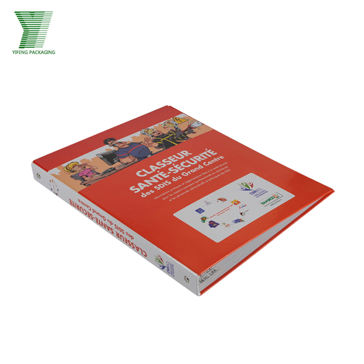 Environmental materials customized logo paper file folders