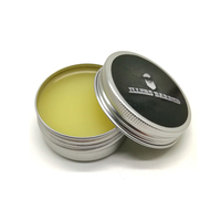 Private Label Natural Handmade Wax Moustache Moisturizer Beard Care Products Organic Beard Balm