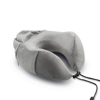 Versatile Car Office Neck Rest Support Travel Pillow Set Memory Foam Travel Pillow