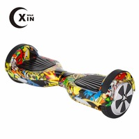 Cool graffiti hoverboard 300 W*2 self balancing electronic scooter with lithium battery