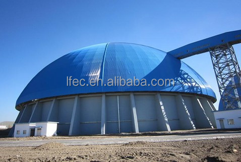High Security Steel Structure Space Frame Domes for Storage