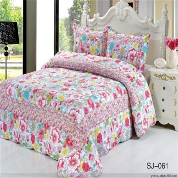Captivating Printed Fashion Design Cotton Bed Sheets Designs In Pakistan
