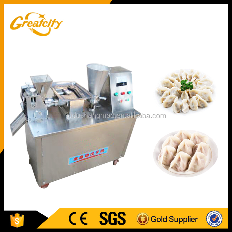 Dumpling make machine,samosa machine for small and big samosa,CE approved samosa making machines