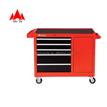 Customized Luxury Craftsman Drawer Tool Chest 5 Drawer Side Cabinet Cabinet  For Tools