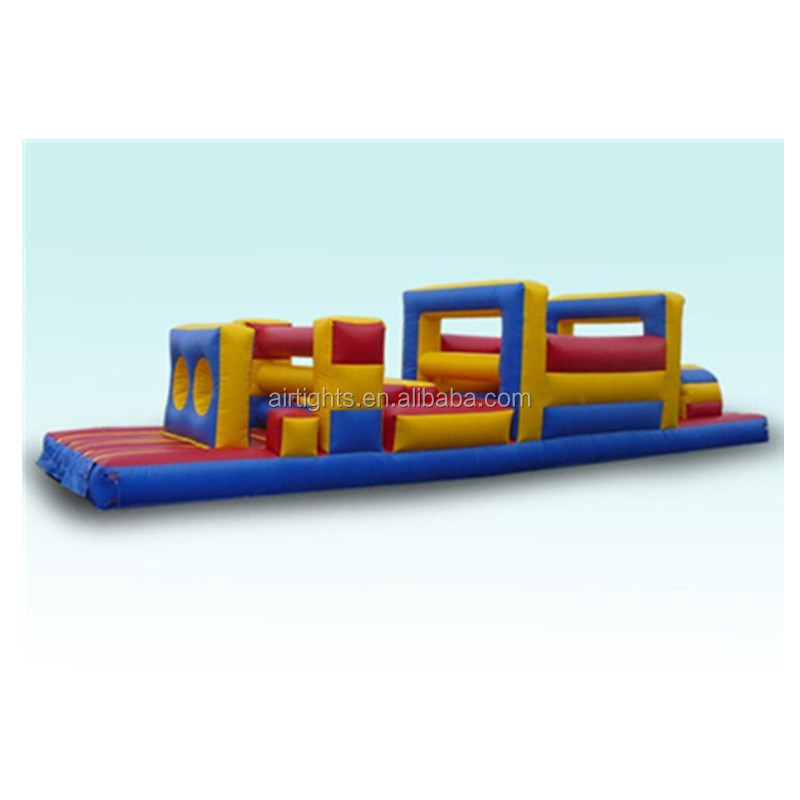 top grade PVC vinyl interaceive inflatable obstacle courses R4007