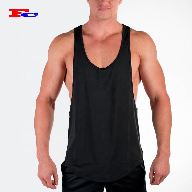 b717788889246 Custom Fitness Stringer Singlet