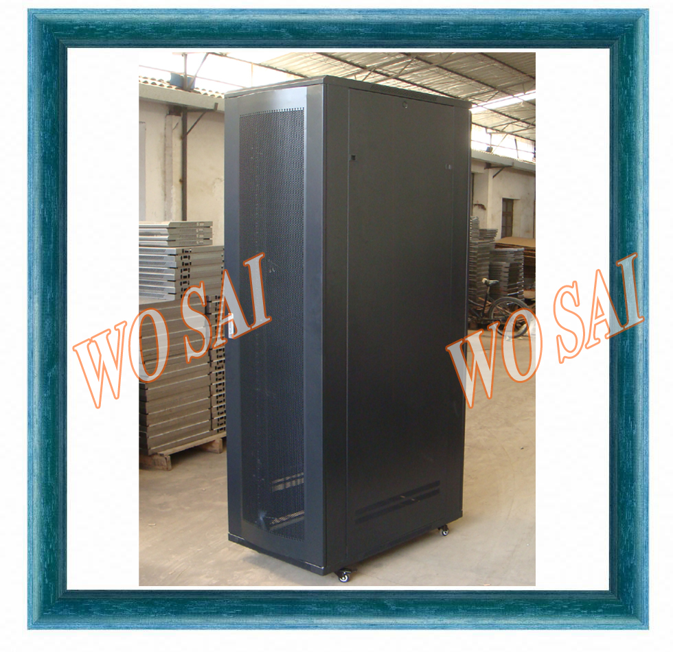 "Wosai factory 19"" 42U rack server cabinet network cabinet with cable management"