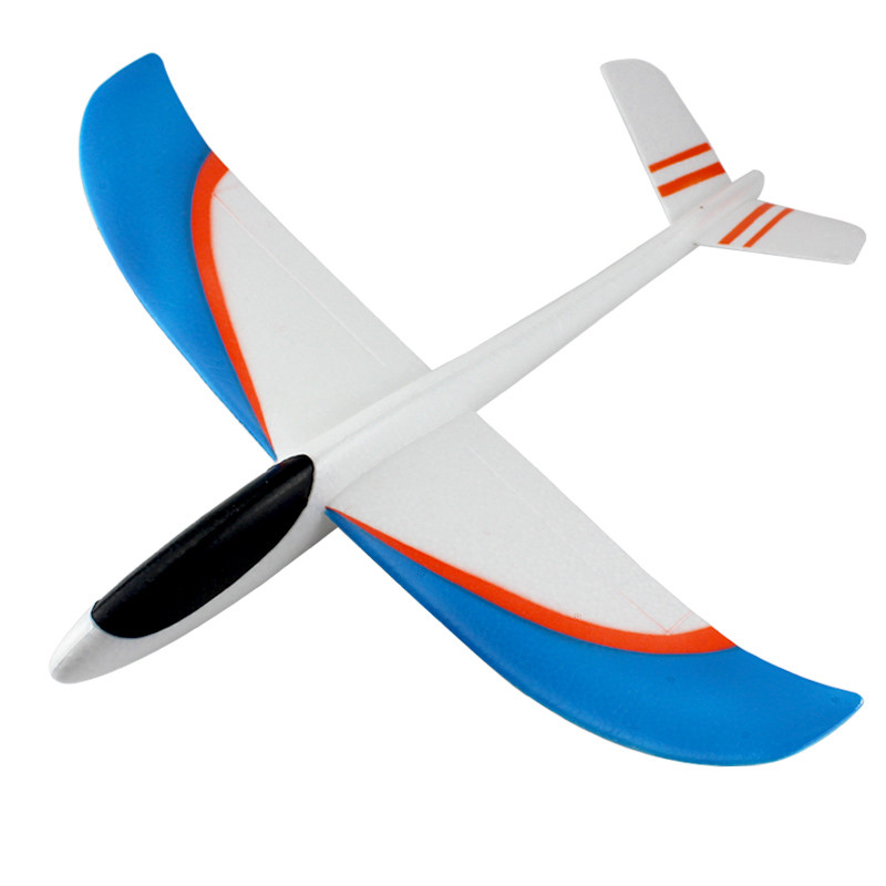 DIY kid toy hand throwing glider, 3D foam plane, Kids foam toys