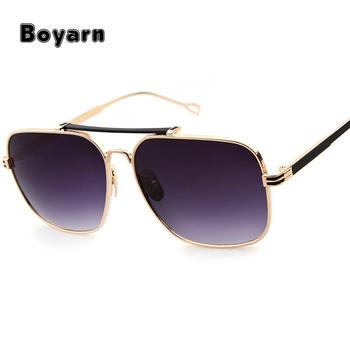 2017 Mens Square Sunglasses Men Gold Retro Women Brand Designer Vintage  Glasses Female Alloy personalized Sunglasses a054cb4ba2